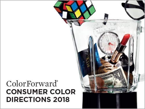 Image of Color Forward brochure designed by Blass Marketing