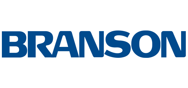 Branson Ultrasonics logo - client of Blass Marketing