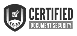 Certified Document Security logo